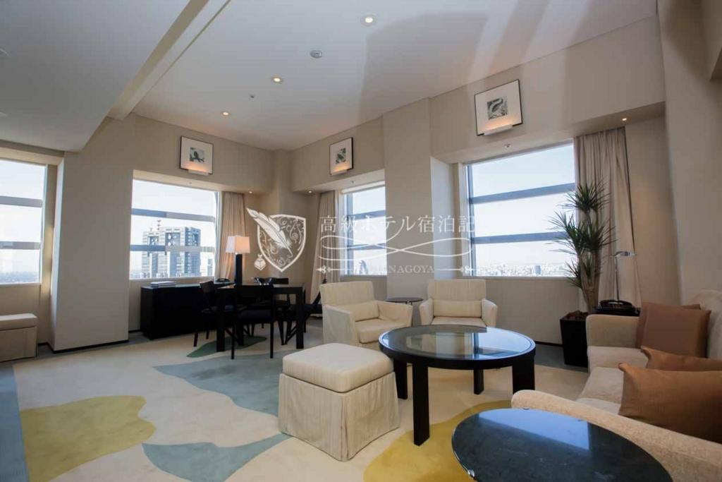 Park Hyatt Tokyo/Four-Star:Park Suite Room(100㎡) パークハイアット東京:パークスイート1