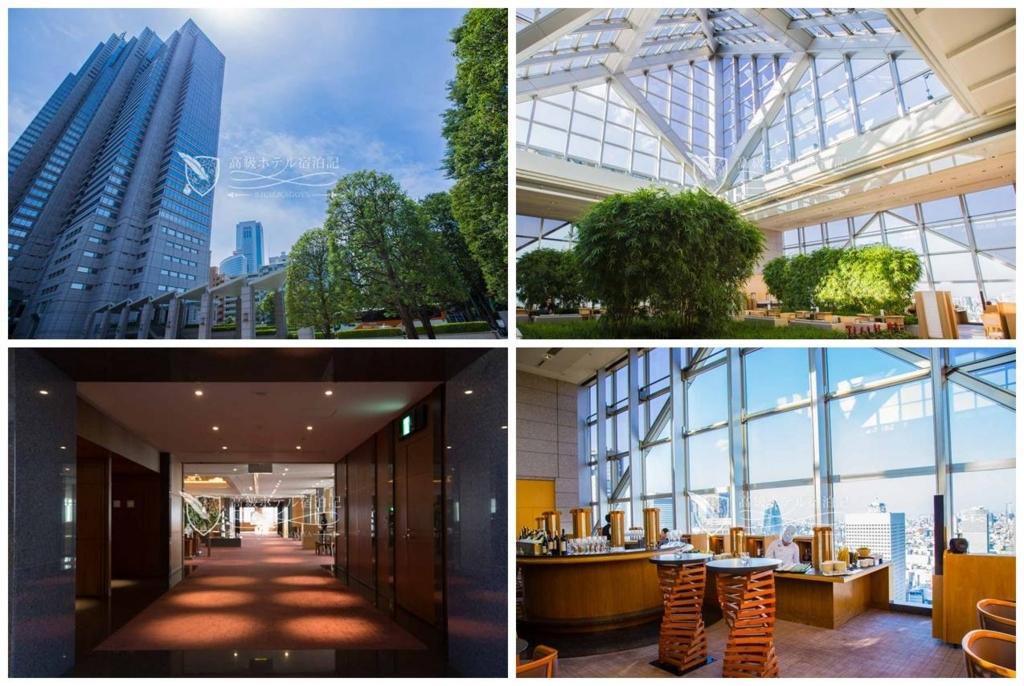 Park Hyatt Tokyo/Four-Star:Exterior,Lobby Floor パークハイアット東京:外観、ロビーフロア