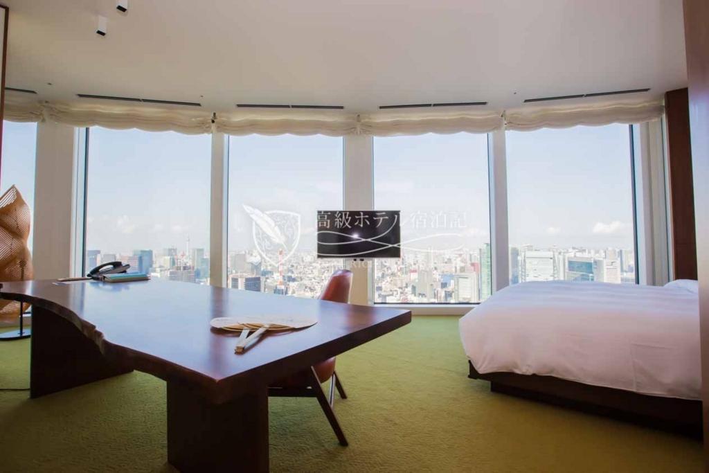 Andaz Tokyo Toranomon Hills/Four-Star:Andaz Laege King Room(65㎡) アンダーズ東京:ラージキングルーム1