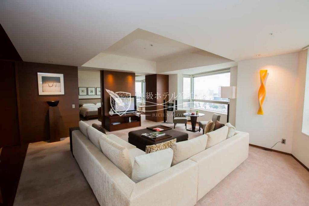 Grand Hyatt Tokyo/Four-Star:Grand Executive Suite King(100㎡) グランドハイアット東京:グランドエグゼクティブスイートキングベッドタイプ