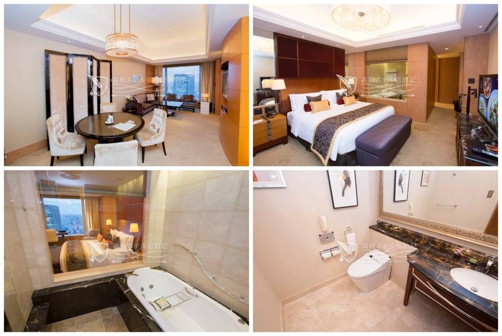 Shangri-La Hotel, Tokyo/Four-Star:Premier Suite(120㎡) シャングリ・ラ ホテル 東京:プレミアスイート2