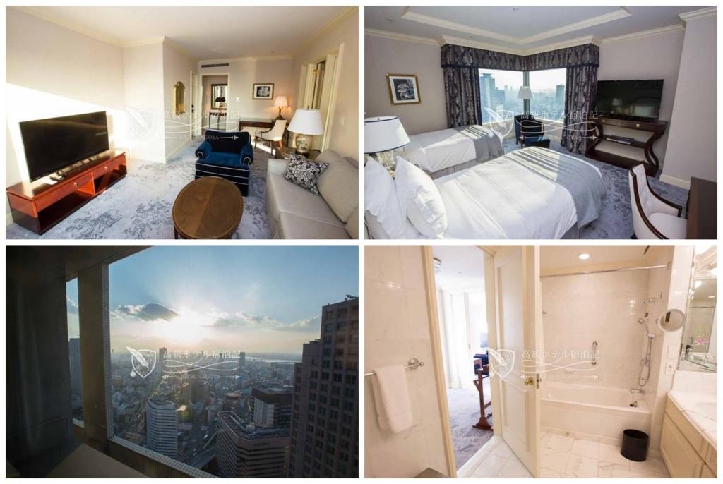 The Ritz-Carlton, Osaka/Four-Star:Club Suite Room(76㎡) ザ・リッツ・カールトン大阪:クラブスイート2