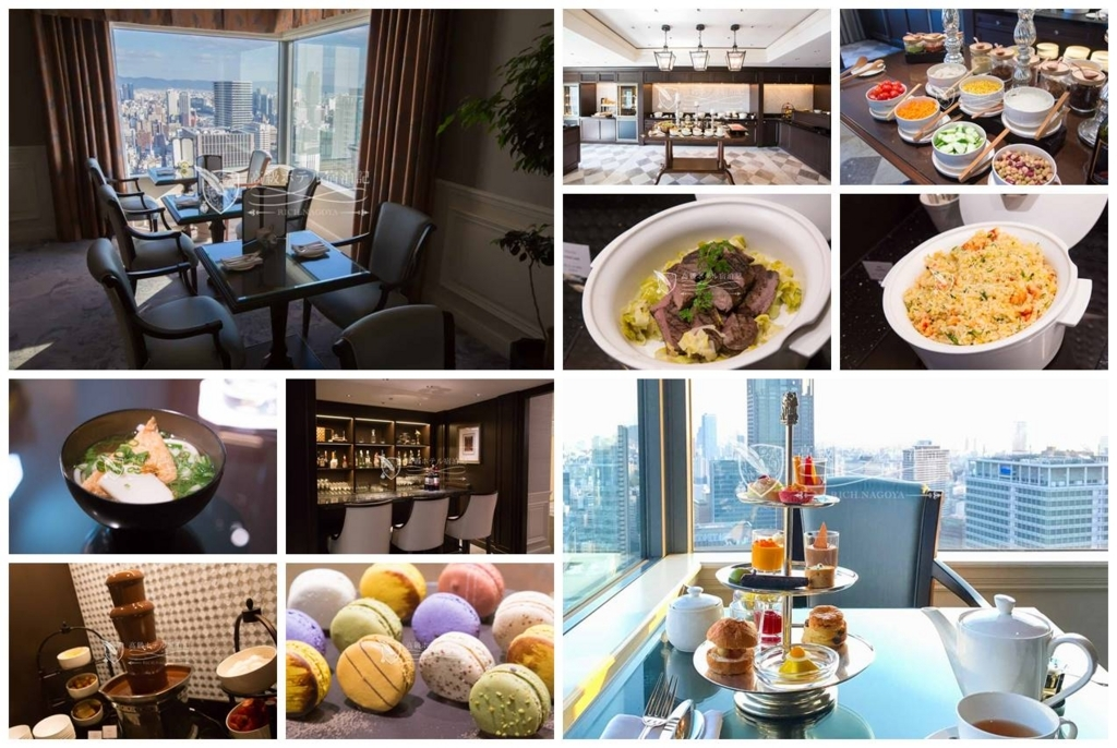 The Ritz-Carlton, Osaka/Four-Star:Club Lounge at 34th Floor ザ・リッツ・カールトン大阪:クラブラウンジ