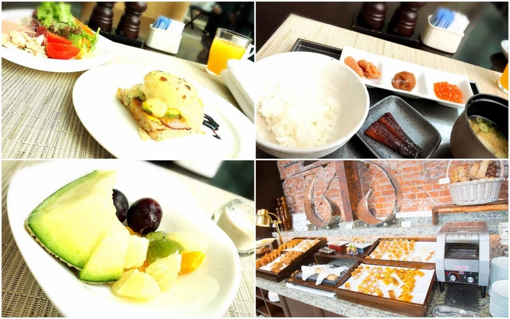 The Tokyo Station Hotel/Four-Star:Breakfast at The Atrium 東京ステーションホテル:アトリウムでの朝食1
