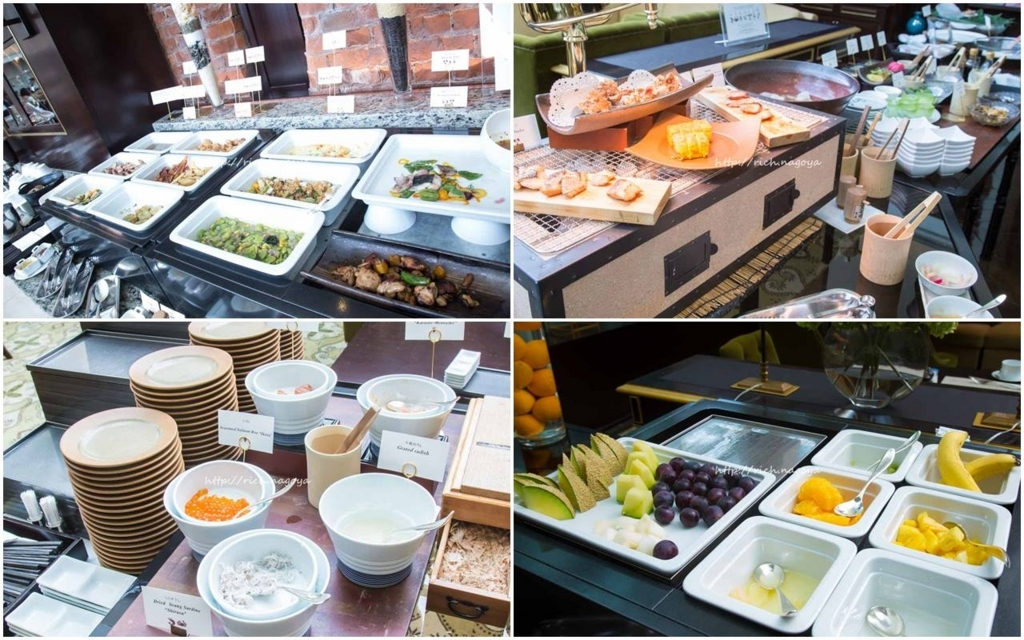 The Tokyo Station Hotel/Four-Star:Brakfast at The Atrium 東京ステーションホテル:アトリウムでの朝食2