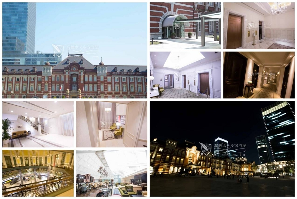The Tokyo Station Hotel/Four-Star:Exterior,Lobby Floor,Guest Room Floor,Restaurant 東京ステーションホテル:外観、ロビー、レストランなど