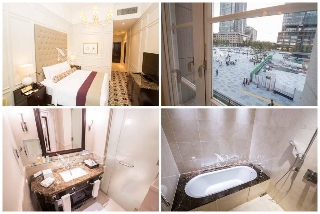 The Tokyo Station Hotel/Four-Star:Palace Side Comfort King(34㎡) 東京ステーションホテル:パレスサイドコンフォートキング2