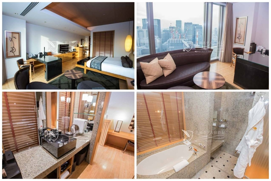 Mandarin Oriental, Tokyo/Five-Star:Mandarin Grand Room(60㎡)マンダリン・オリエンタル東京:マンダリングランドルーム-2