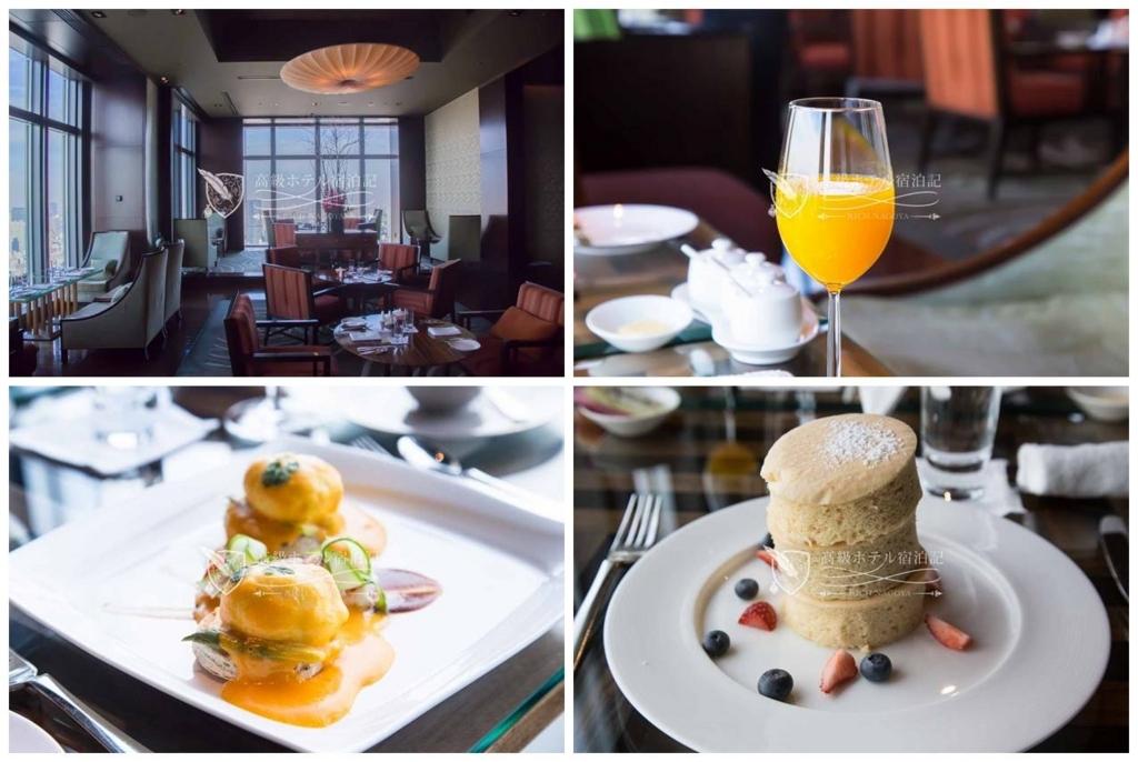Mandarin Oriental, Tokyo/Five-Star:Breakfast atOriental Lounge マンダリン・オリエンタル東京:オリエンタルラウンジでの朝食