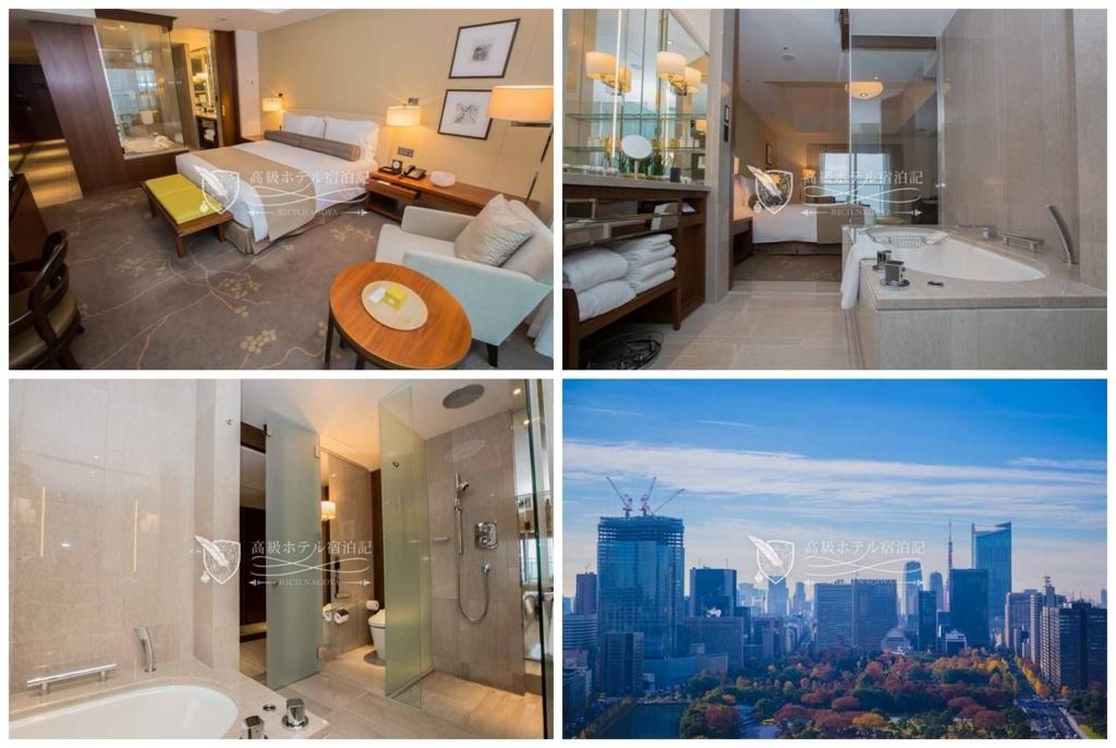 Palace Hotel Tokyo/Five-Star:Club Deluxe Kingroom Wadakura Fountain Park Side(45㎡) パレスホテル東京:クラブデラックスキングルーム和田倉噴水公園側