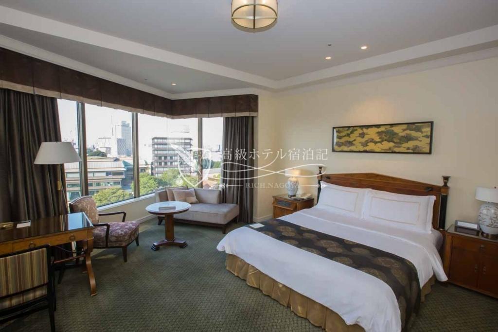 Hotel Chinzanso Tokyo/Four-Star:Prime Modern Superior King Garden View(45㎡) ホテル椿山荘東京:プライムモダンスーペリア キング ガーデンビュー1