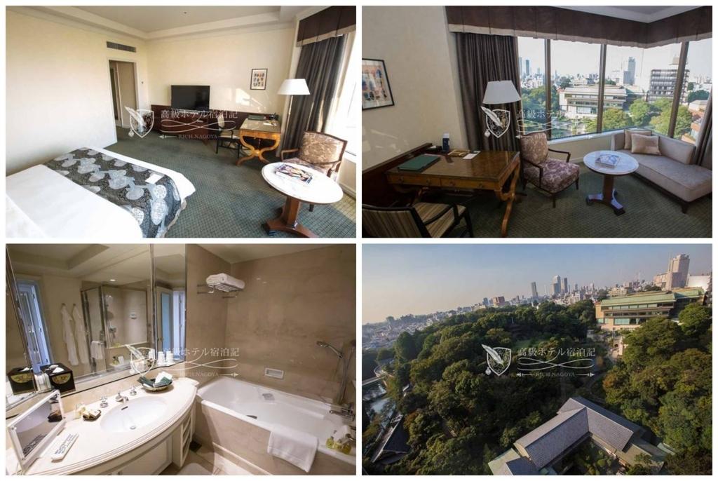 Hotel Chinzanso Tokyo/Four-Star:Prime Modern Superior King Garden View(45㎡) ホテル椿山荘東京:プライムモダンスーペリア キング ガーデンビュー2