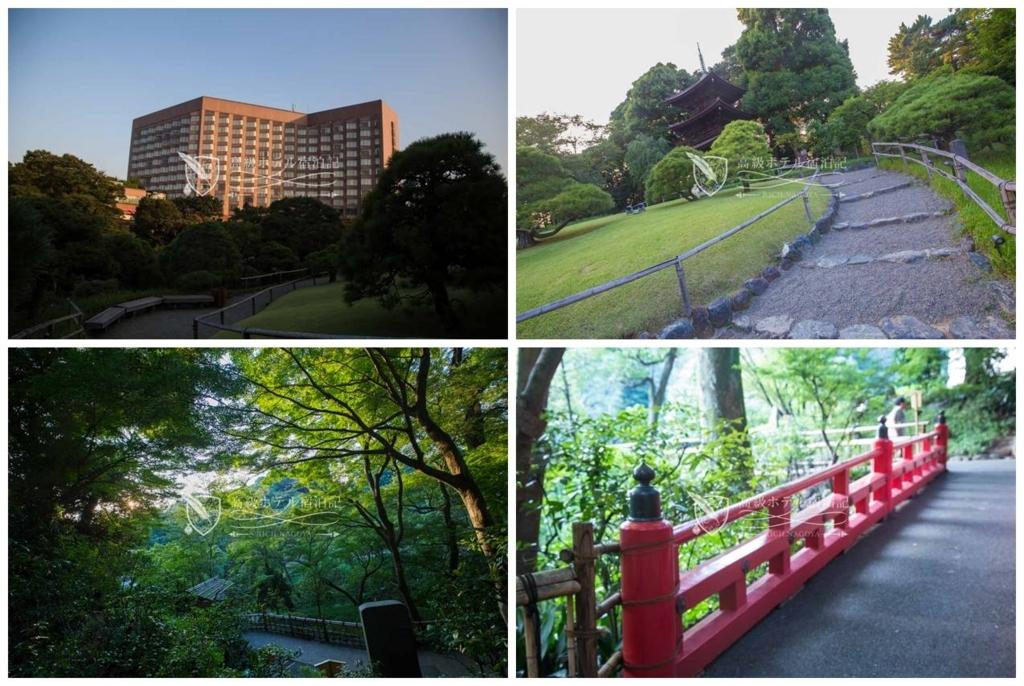 Hotel Chinzanso Tokyo/Four-Star:Garden ホテル椿山荘東京:日本庭園