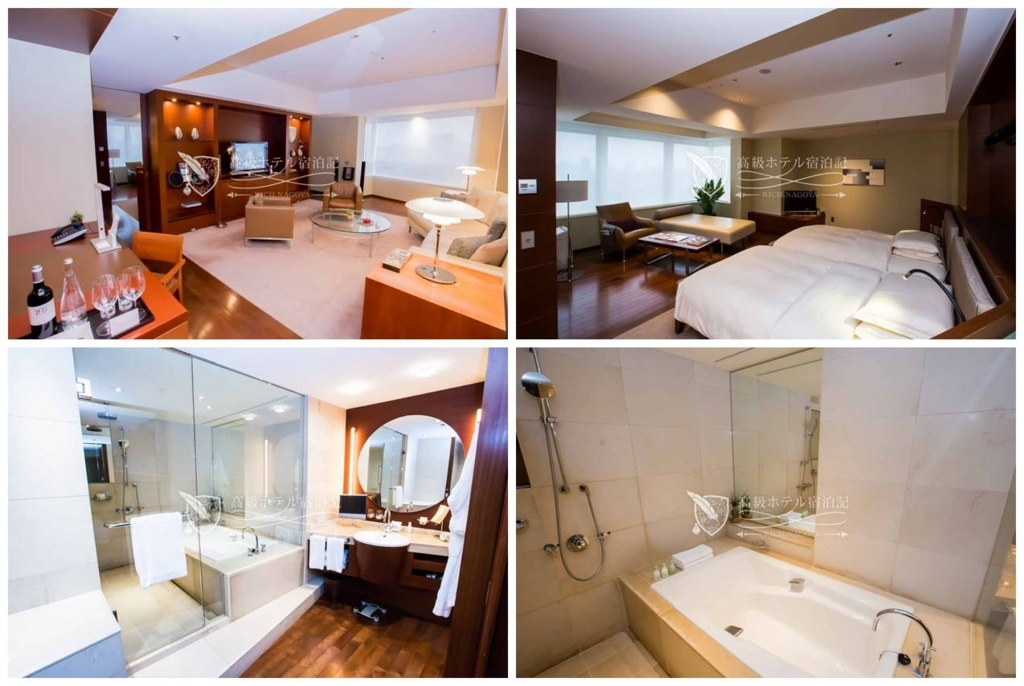 Grand Hyatt Tokyo/Four-Star:Grand Executive Suite Twin(100㎡) グランドハイアット東京:グランドエグゼクティブスイートツインベッドタイプ