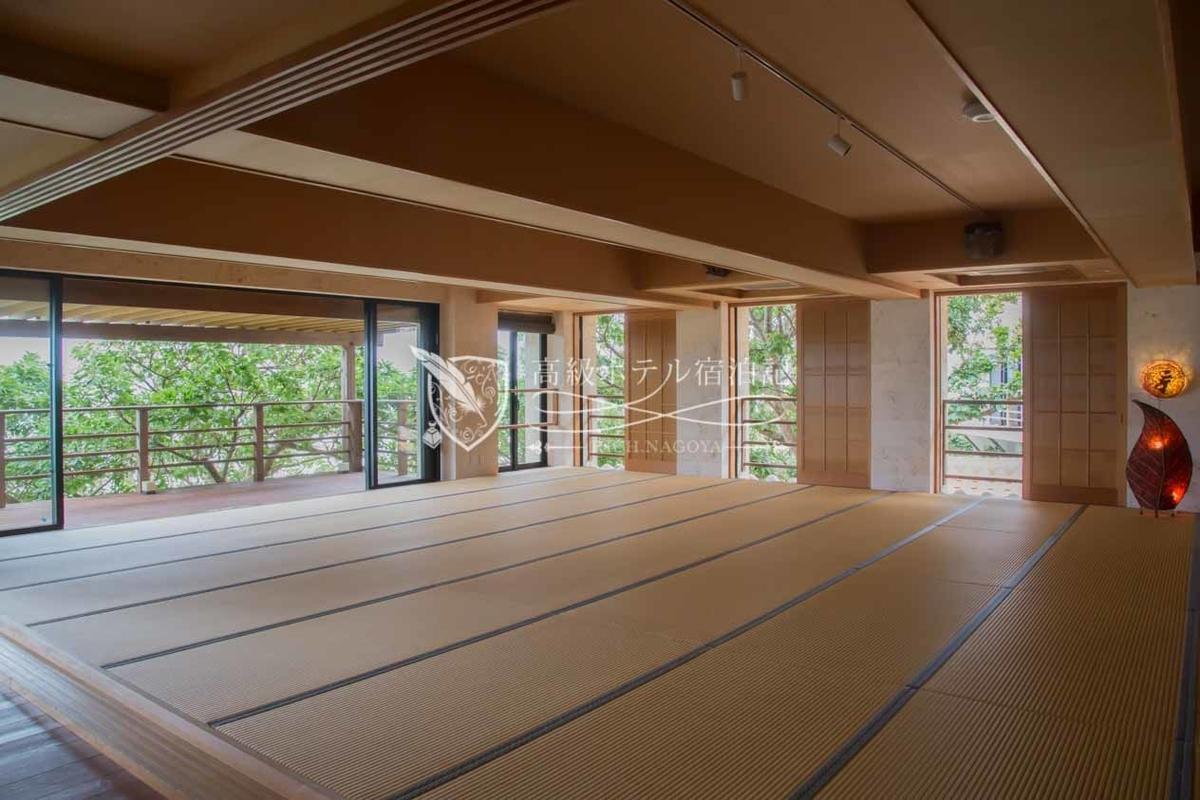 "Hyakuna Garan:Lounge""Zen no ma"""