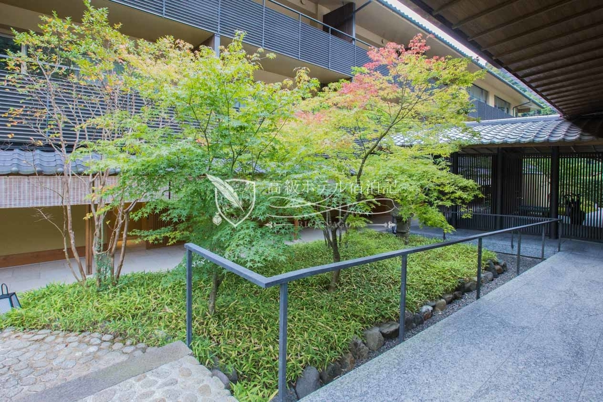 Suiran Luxury Collection Hotel Kyoto:Court Yard