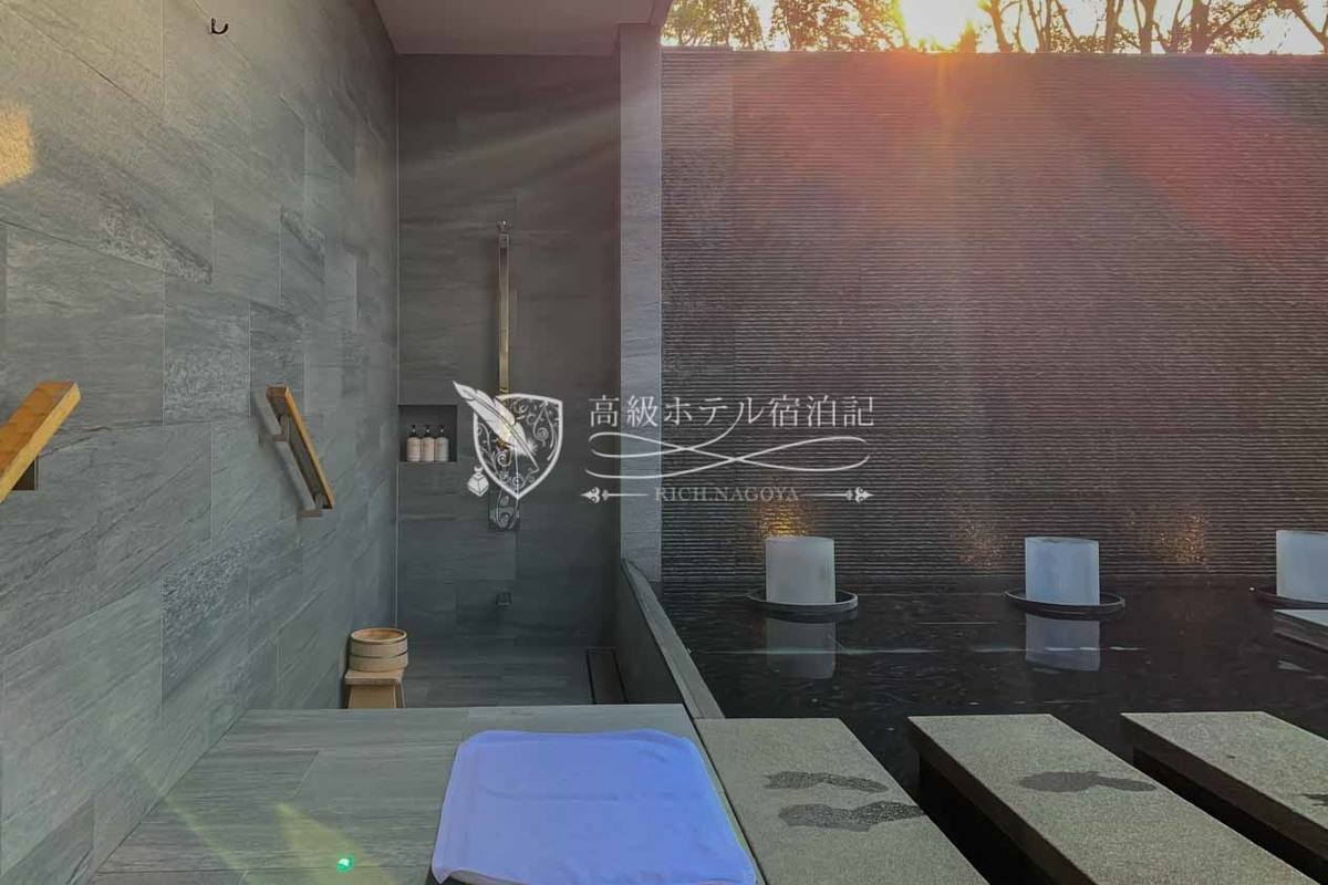The Hiramatsu Hotels & Resorts Kashikojima : Private Outdoor Bath Shower ザ・ひらまつ ホテルズ&リゾーツ 賢島:貸切露天風呂