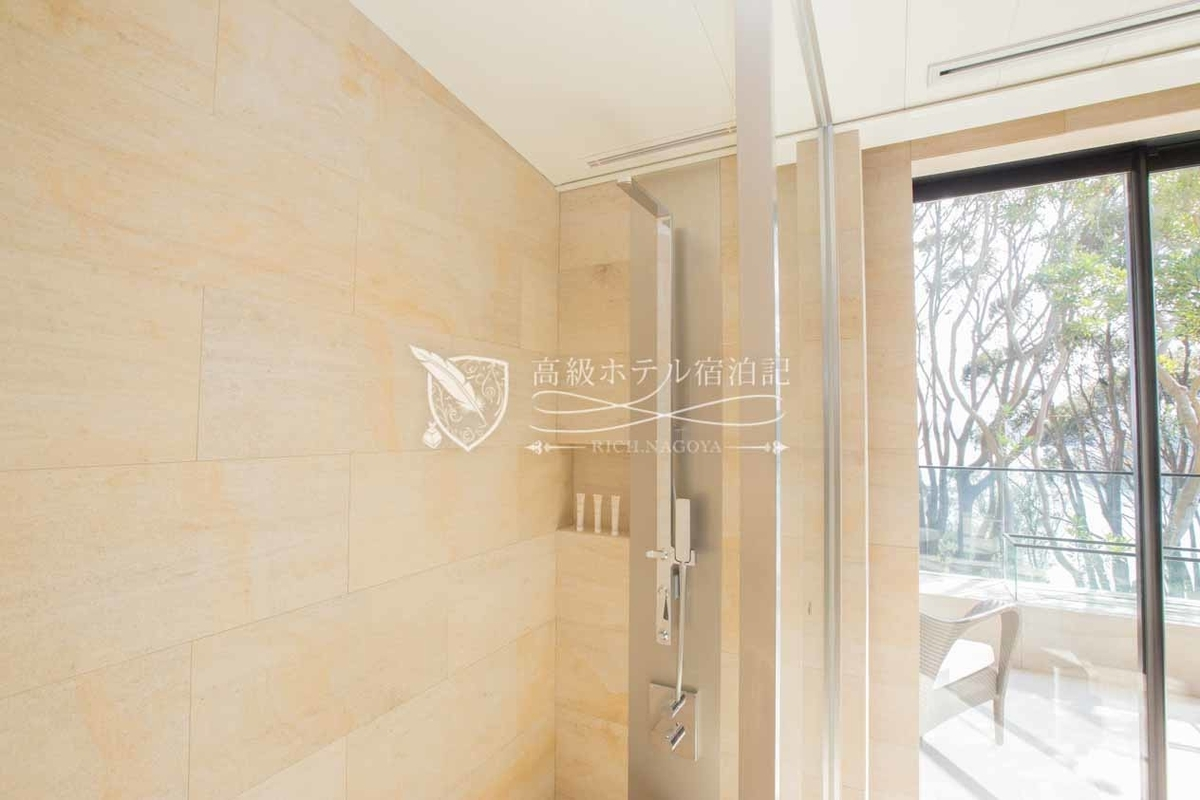 The Hiramatsu Hotels & Resorts Kashikojima : Executive Double Room Shower Area