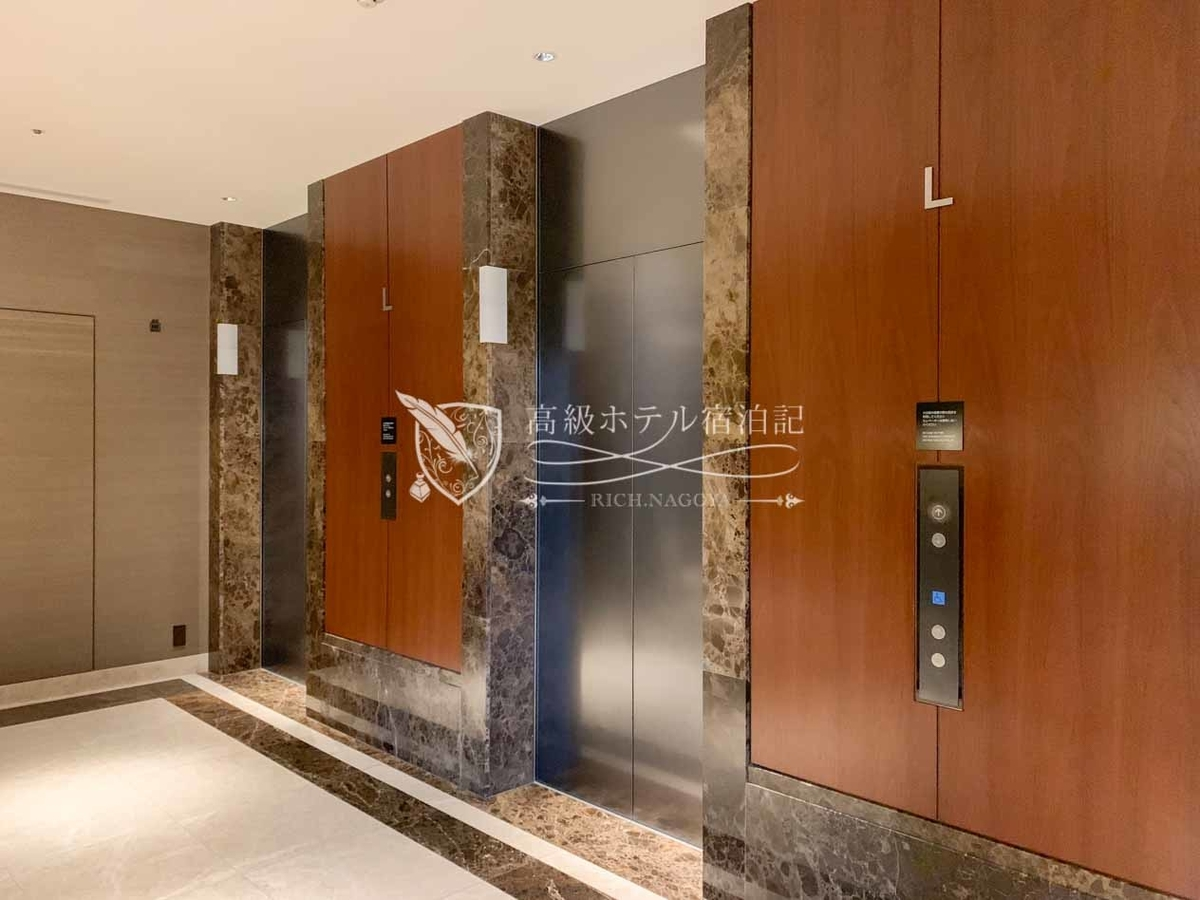 Hyatt Regency Naha Okinawa:Elevator Hall