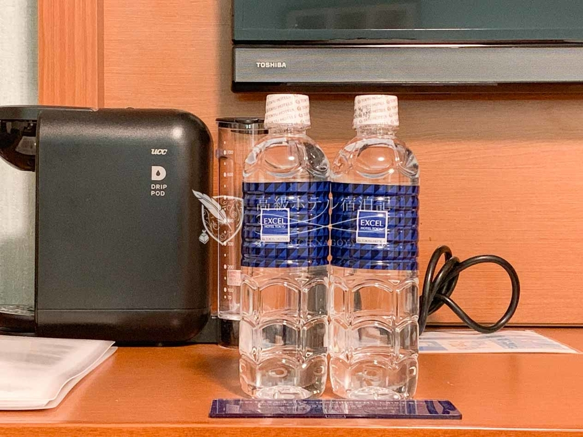 Sapporo excel hotel tokyu:Mineral Water