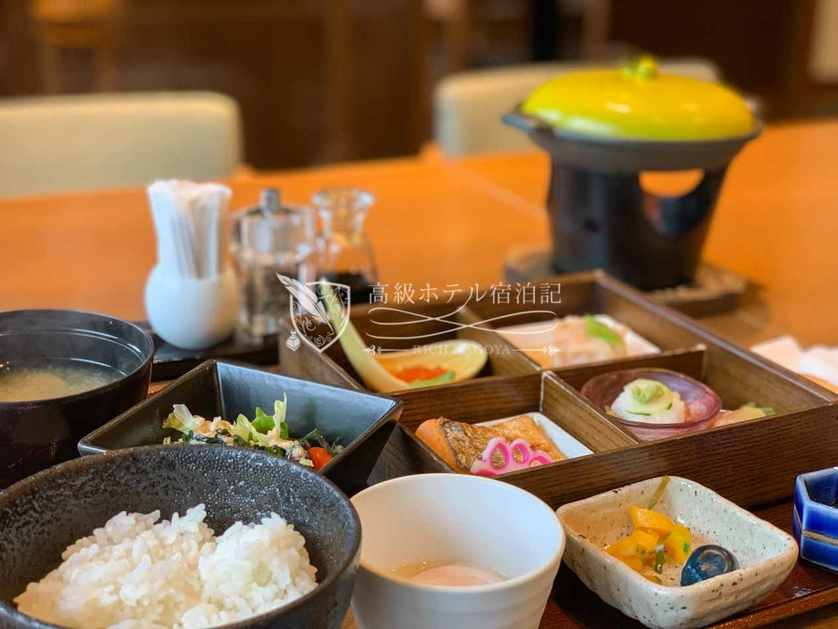 Sapporo excel hotel tokyu:Breakfast at Karamatsu