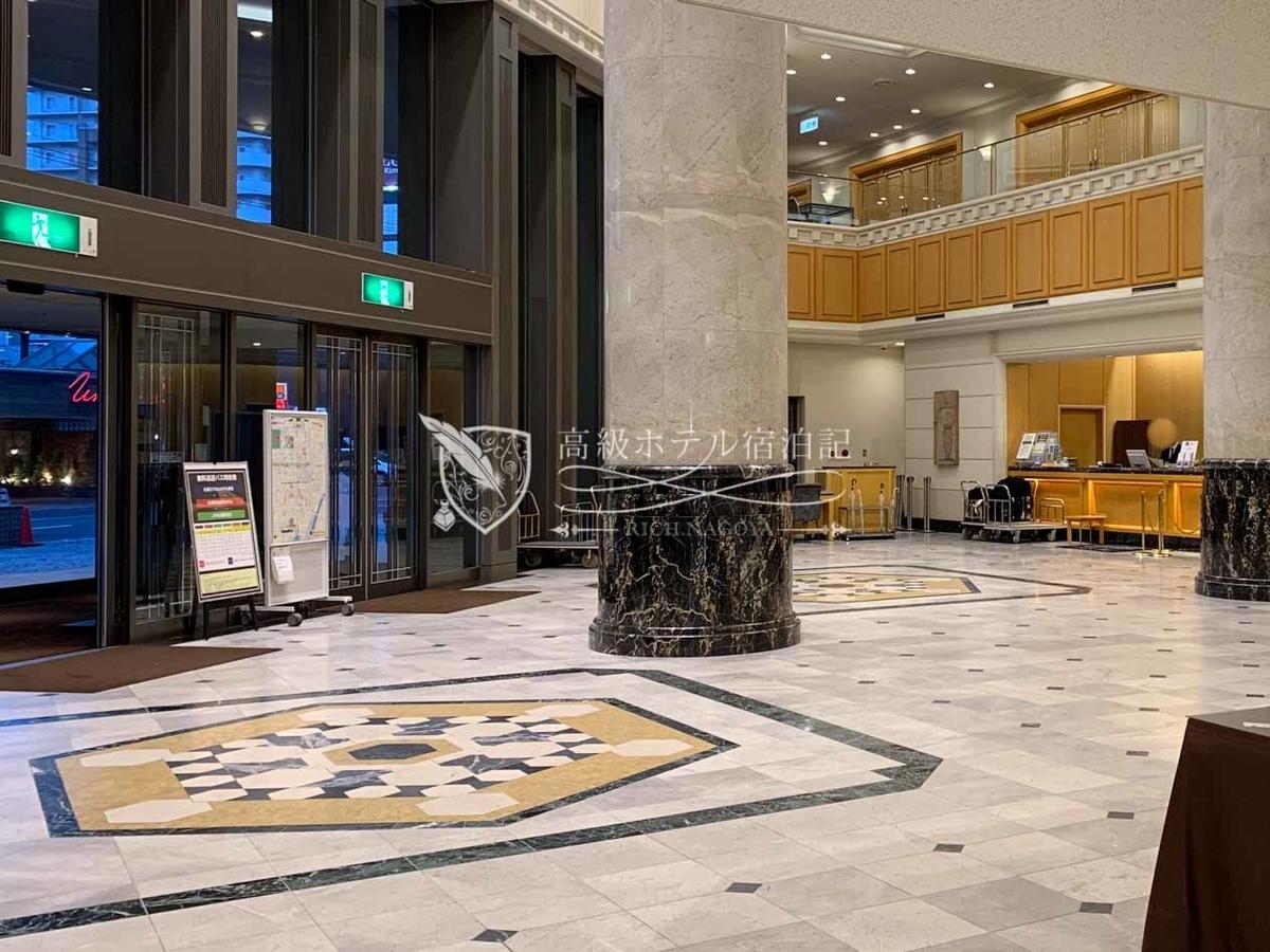 Sapporo excel hotel tokyu:Lobby Floor