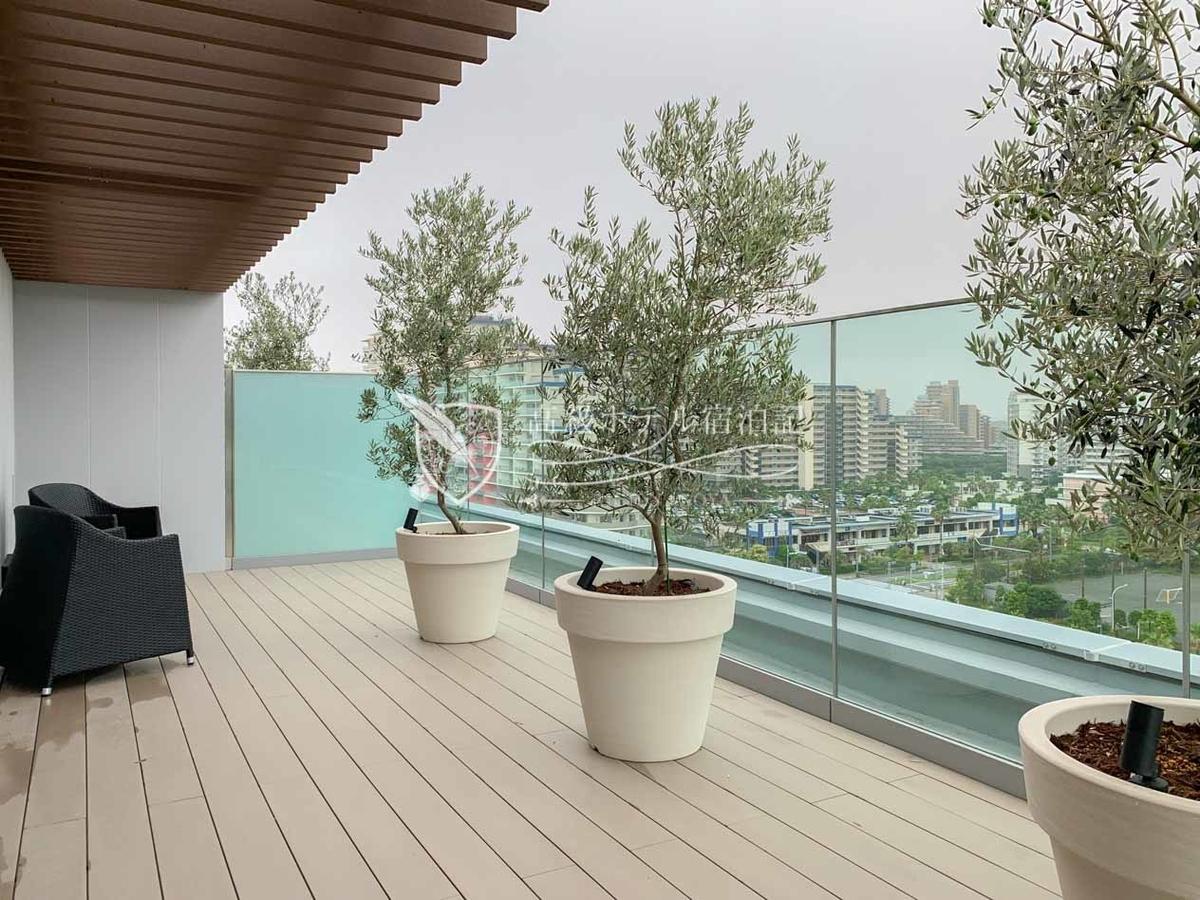 Hyatt Place Tokyo Bay: Terrace Room Twin
