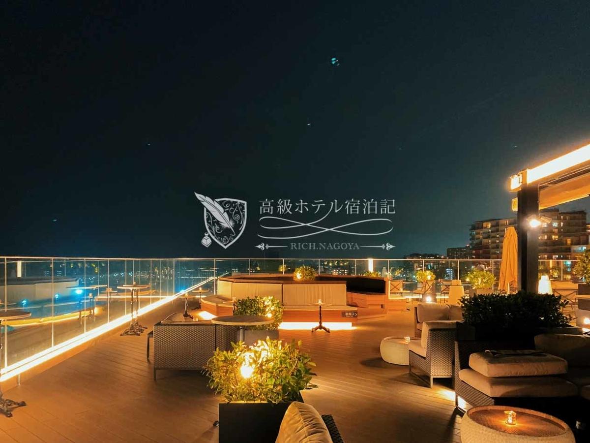 Hyatt Place Tokyo Bay:Roof Top Bar