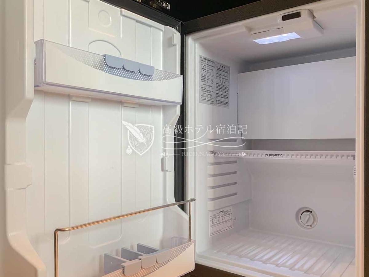 ハイアットプレイス東京ベイ:客室の冷蔵庫は空っぽ