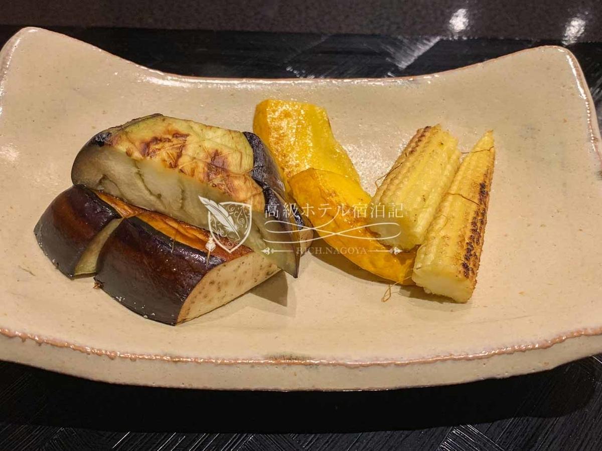 ハイアットプレイス東京ベイ:鉄板焼 富貴亭:料理(ディナー)
