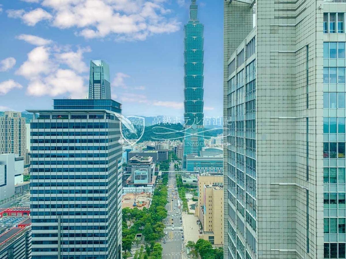 W台北:眺めが良いとテンション上がるよね