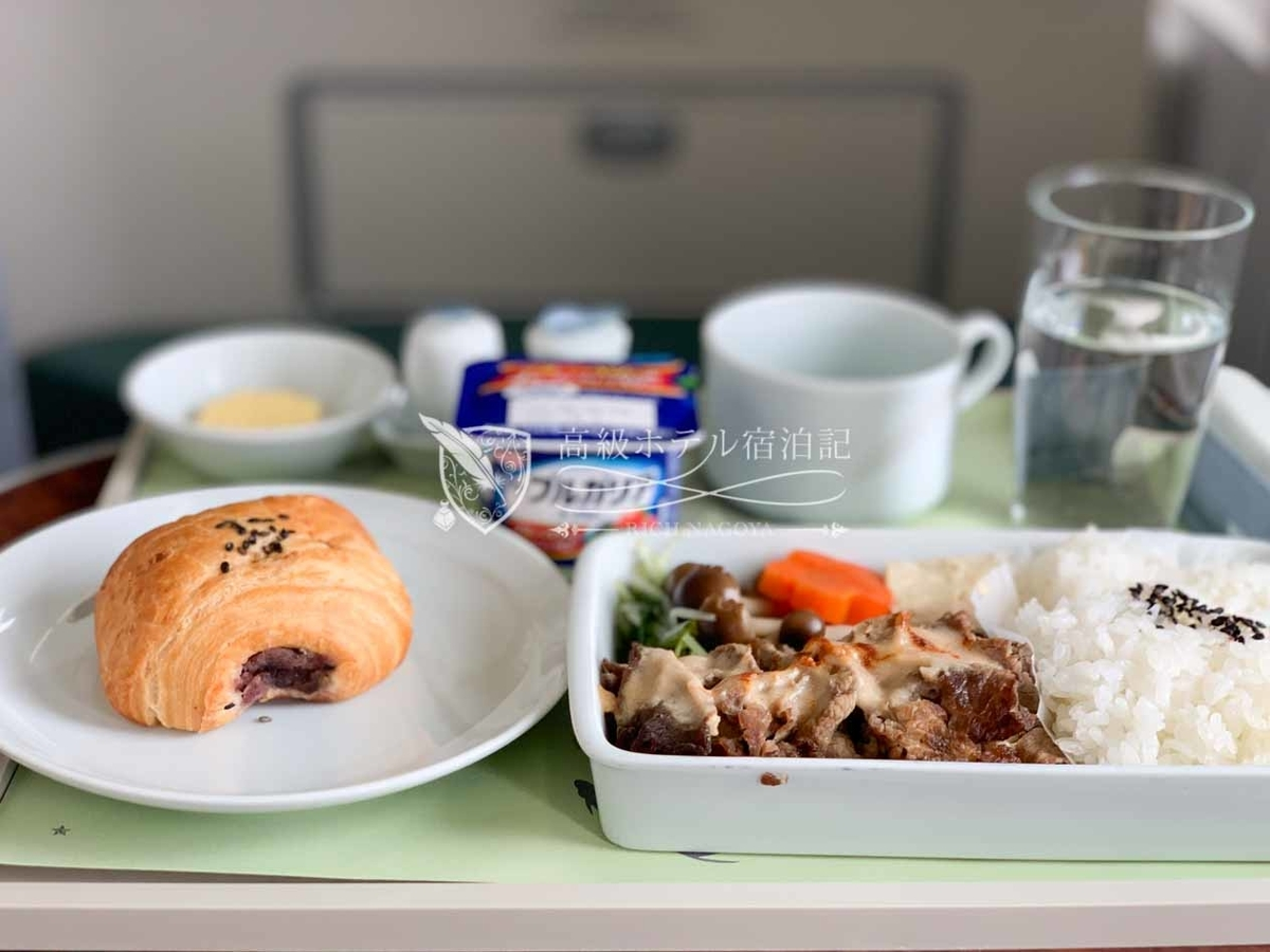 大韓航空名古屋→ソウル・仁川ビジネスクラス(プレステージクラス)機内食