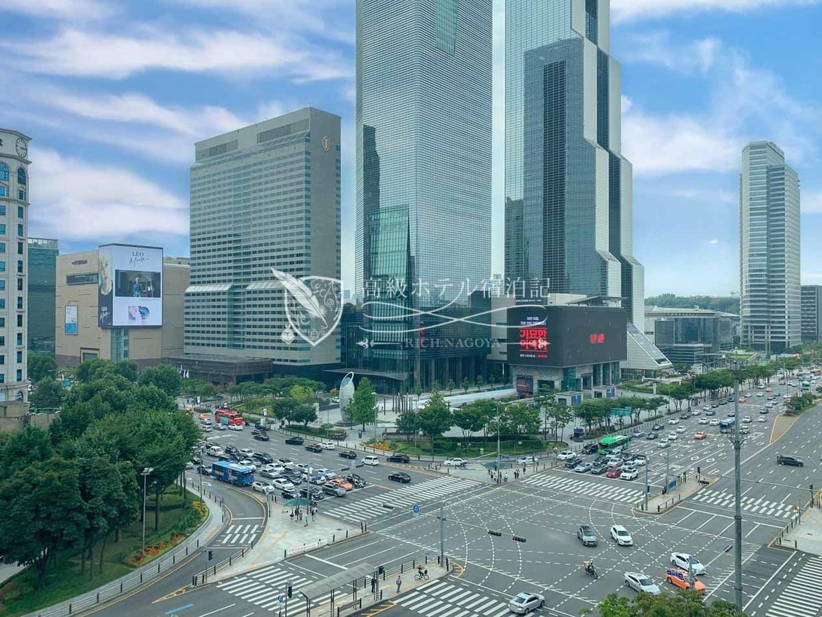 パークハイアットソウル:710号室(7階)からの眺望。高層階からは全く違った眺めになりそう。