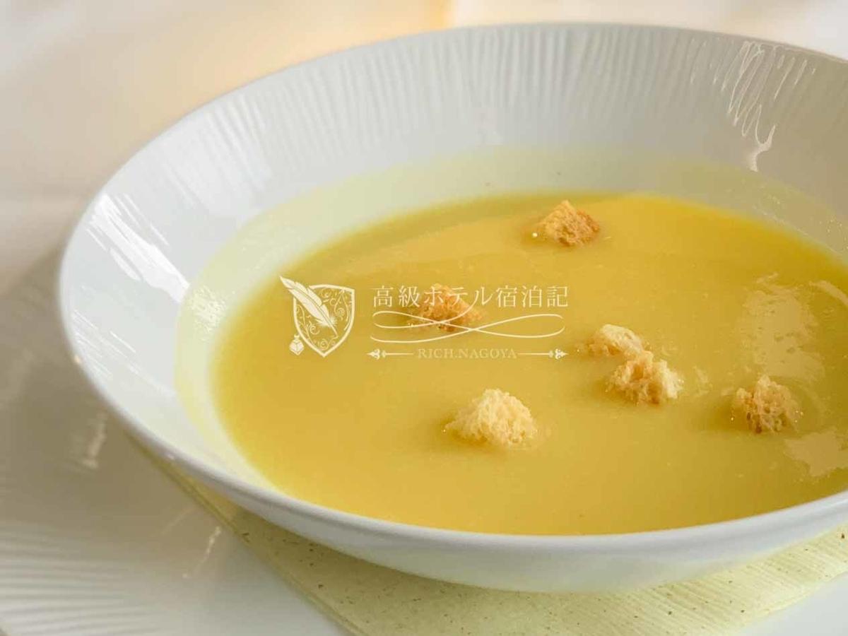 コーンスープ(ANAオリジナルメニュー)