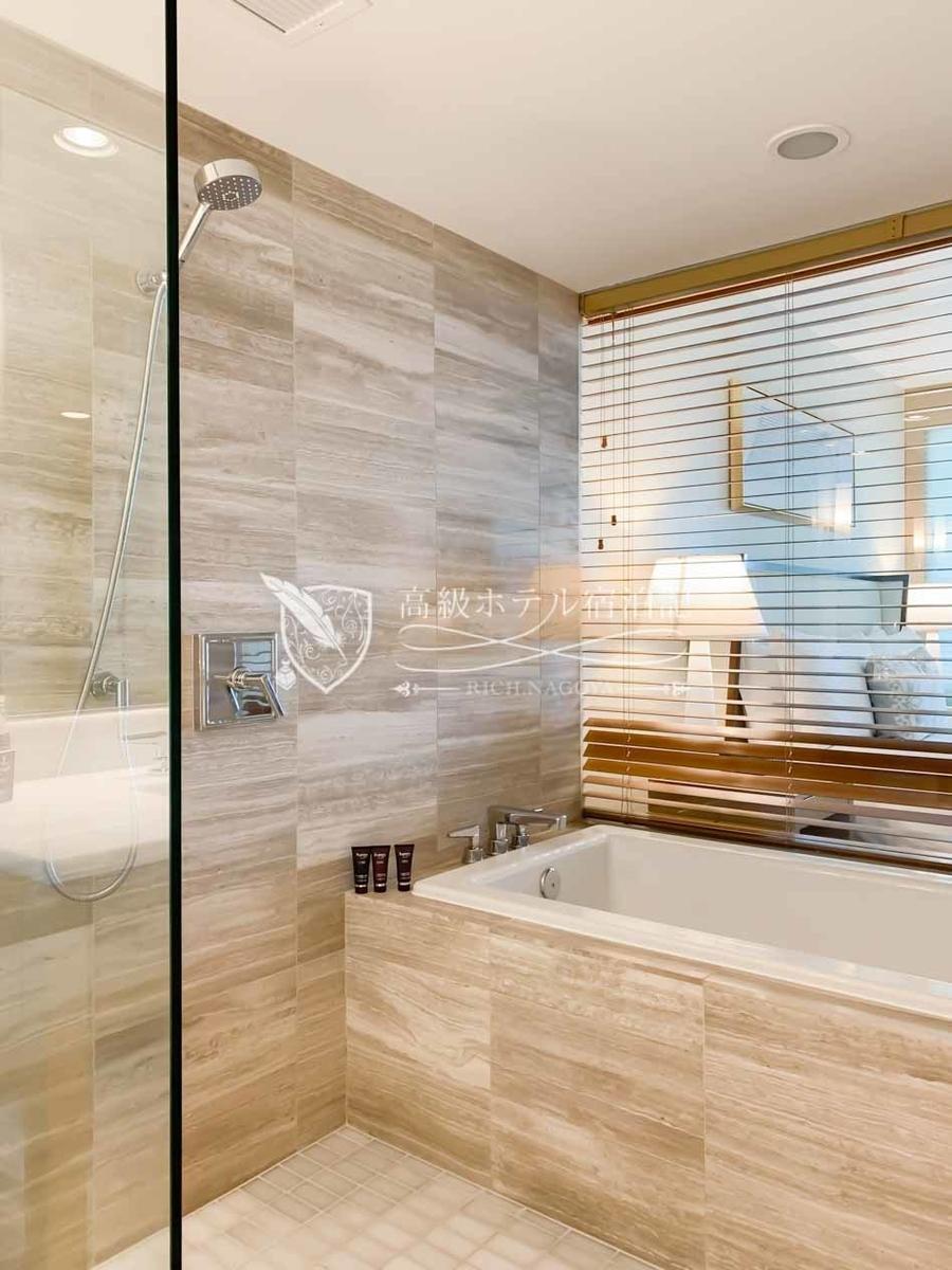 デラックスオーシャンビュールーム:バスルーム