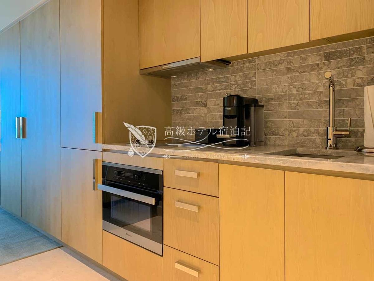 デラックスオーシャンビュールーム:キッチン