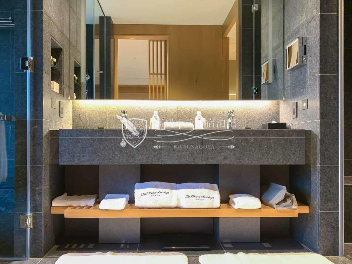 ヘリテージルーム(バルコニー付き):ヘリテージウイングのすべての客室にダブルシンク(洗面台)を装備。