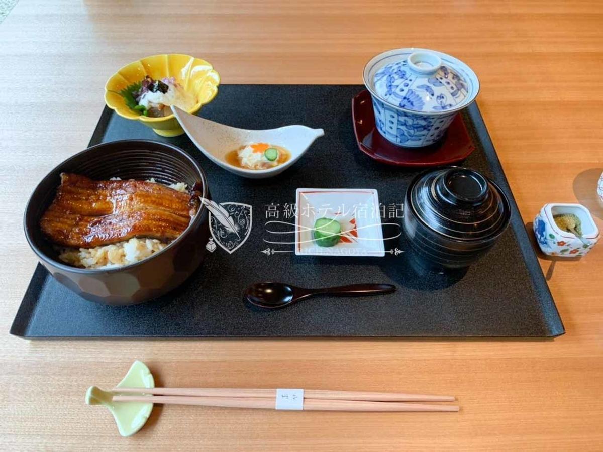 日本料理「山里」:ランチ 鰻御膳(7,000円/税サ別)