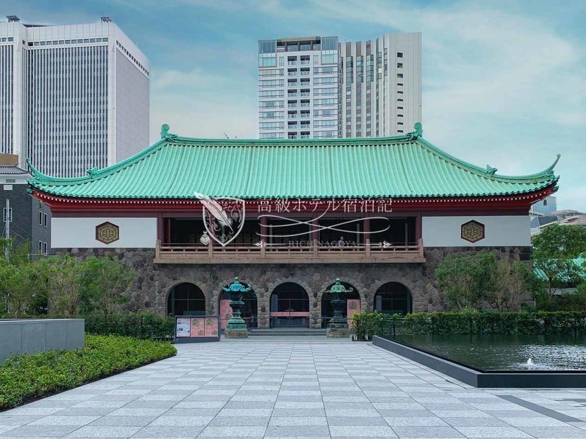 1917年、大倉喜八郎氏が設立した地上2階建ての美術館「大倉集古館」がThe Okura Tokyoの開業と合わせてリニューアルオープン。建物の外観は有形文化財に指定。宿泊客は無料で観覧できる。