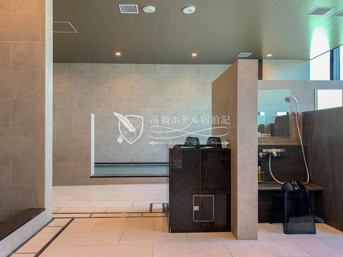 都ホテル 博多:屋上温泉スパ:男性用内湯