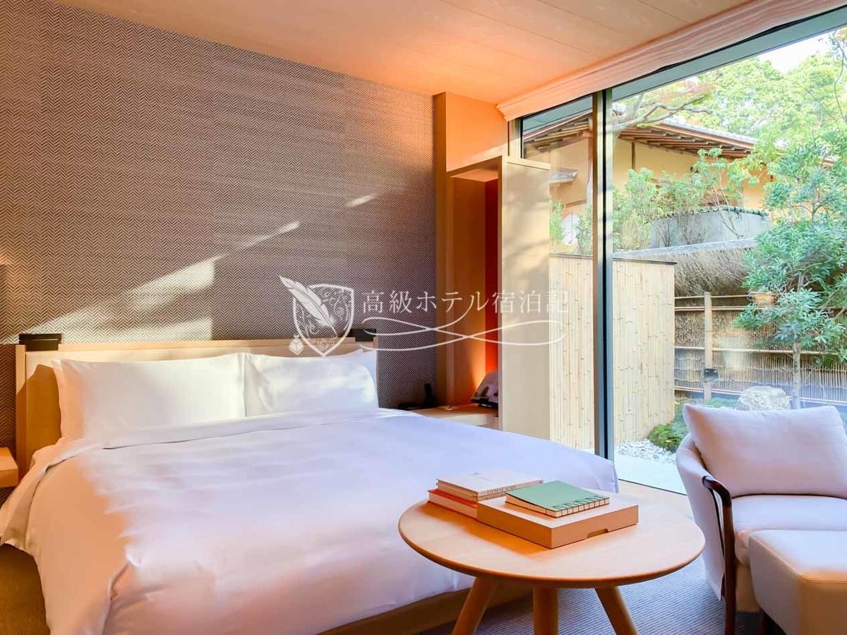 パークハイアット京都 Park Hyatt Kyoto:パークスイート(68㎡) ベッドルーム