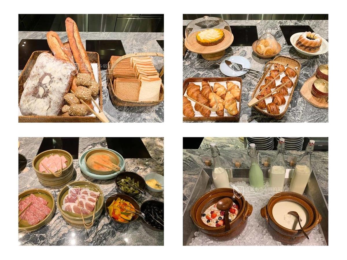 パークハイアット京都 Park Hyatt Kyoto: KYOTO BISTRO 朝食 洋食ビュッフェ(コールドミール)