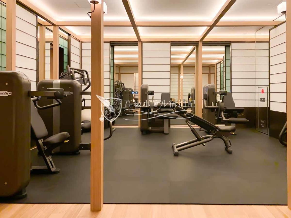 パークハイアット京都 Park Hyatt Kyoto:フィットネスセンター