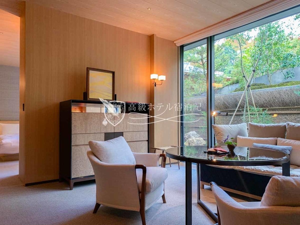 パークハイアット京都 Park Hyatt Kyoto:客室は全70室、プライベート日本庭園付のガーデンテラスルーム、八坂の塔が一望できるビュールームなど、種類は豊富。