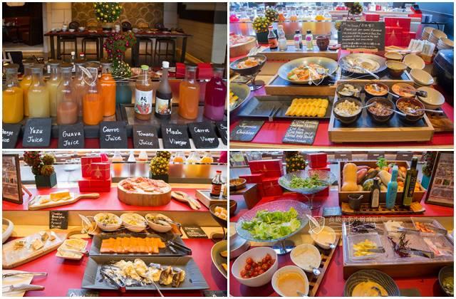 1階「ブラッスリー」の超絶美味しい朝食ビュッフェ!和洋中で品揃えも豊富!