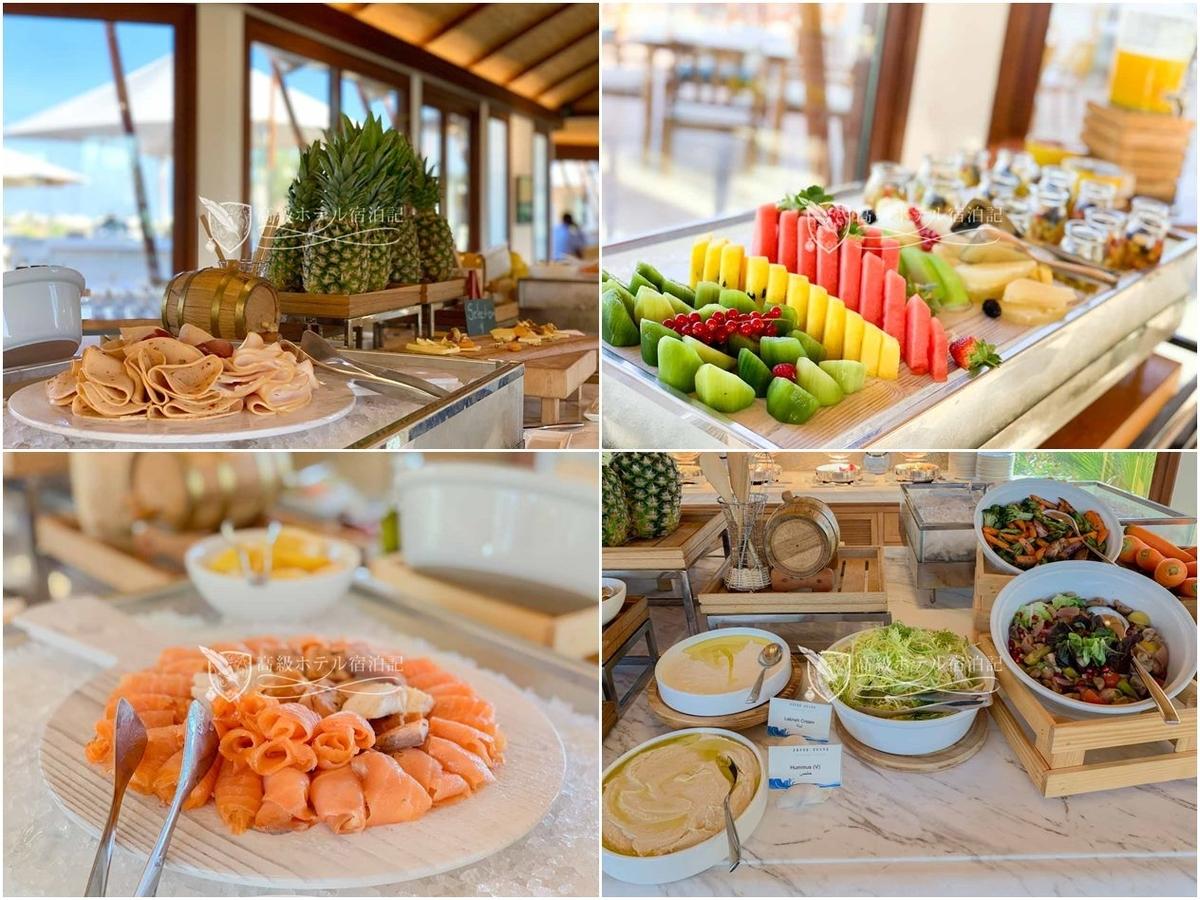 朝食のレベルも高い。特にサラダ、フルーツ、サーモンが美味しい。特にサラダ系が超絶うまい。アルワディと並んでUAEのホテルの中でトップレベルの美味しさ。品数はスモールホテルだけあってアルワディと比べて少なめ。