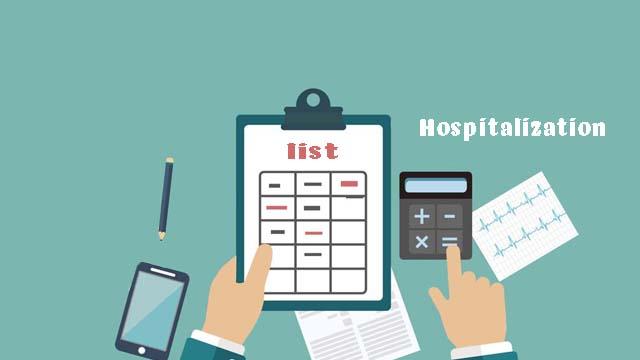入院リスト