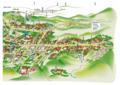 [高野山][マップ]高野山地図東側