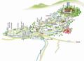 [高野山][マップ]奥之院全体地図