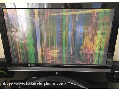 テレビの故障の原因はホコリ